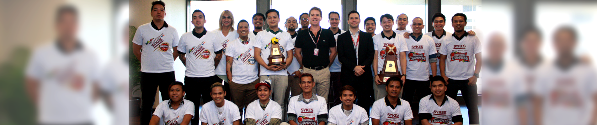 SYKES Team is BPO Classics Hoop King