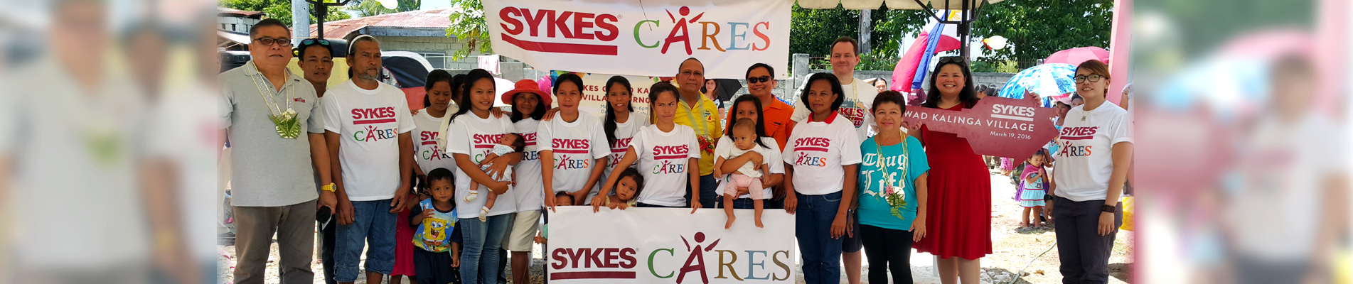 The Gift of Home: Pioneer Call Center SYKES turns over Houses to Yolanda Survivors