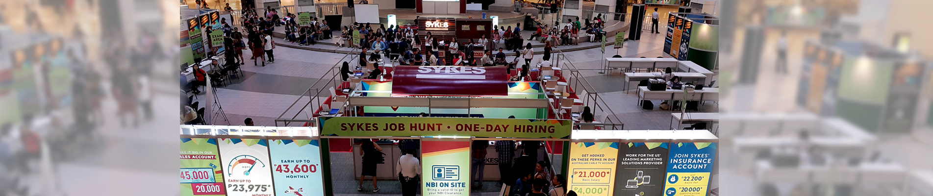 SYKES' 2-day Job Hunt in Trinoma Opened Doors for More Opportunities