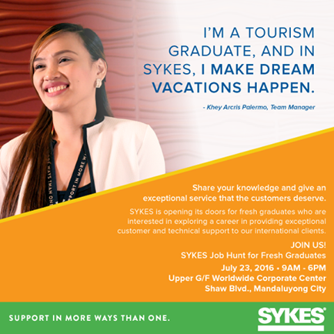 SYKES CALL CENTER JOB