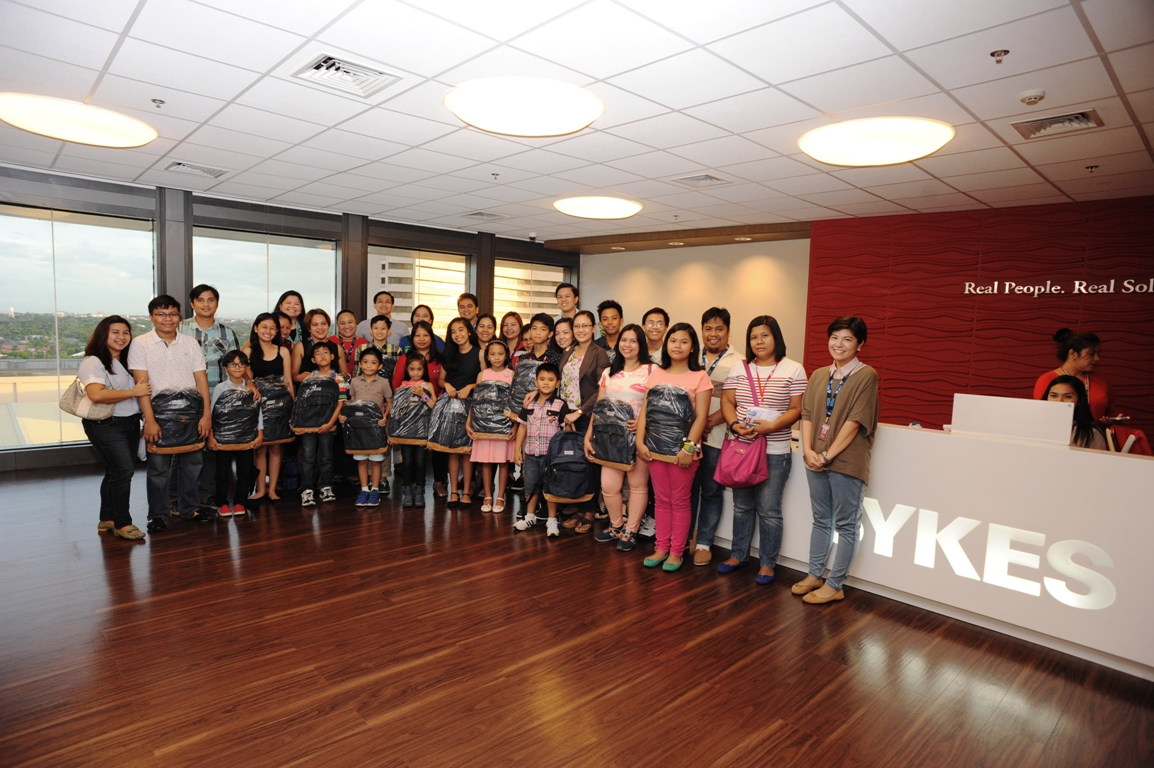 SYKES Pride Scholars Pay a Courtesy Call to Senior Management