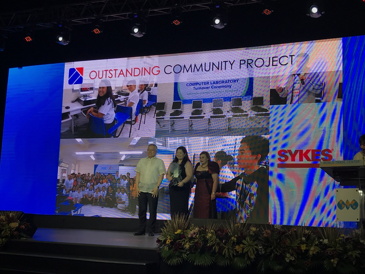 SYKES' Commitment to the Community is Recognized by PEZA Awards