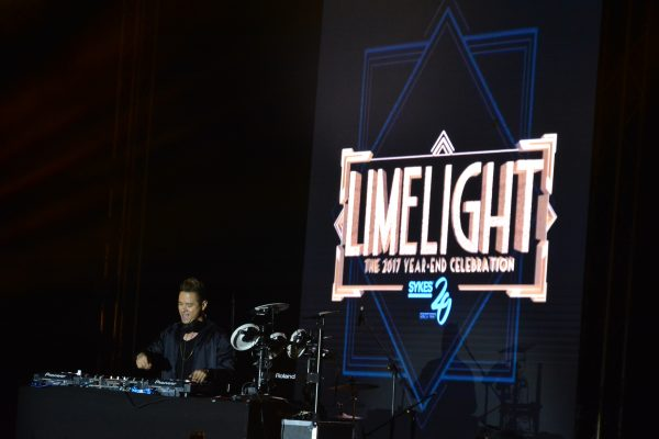 DJ Tom Taus wows the crowd with his drum exhibition