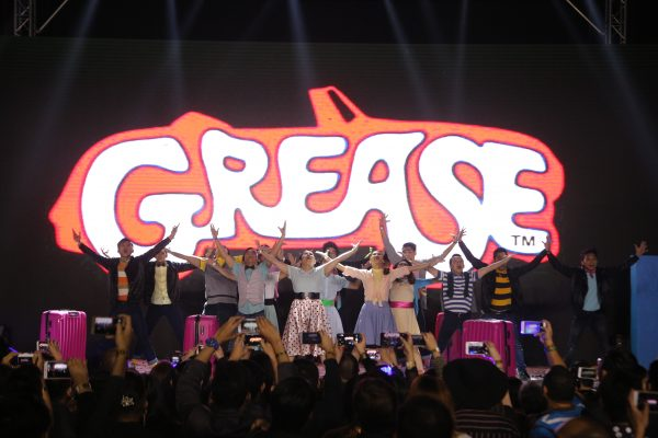 First batch of the employee competition performs dance from movie, Grease
