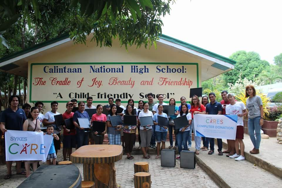 SYKES Reaches Out to the Students of Occidental Mindoro
