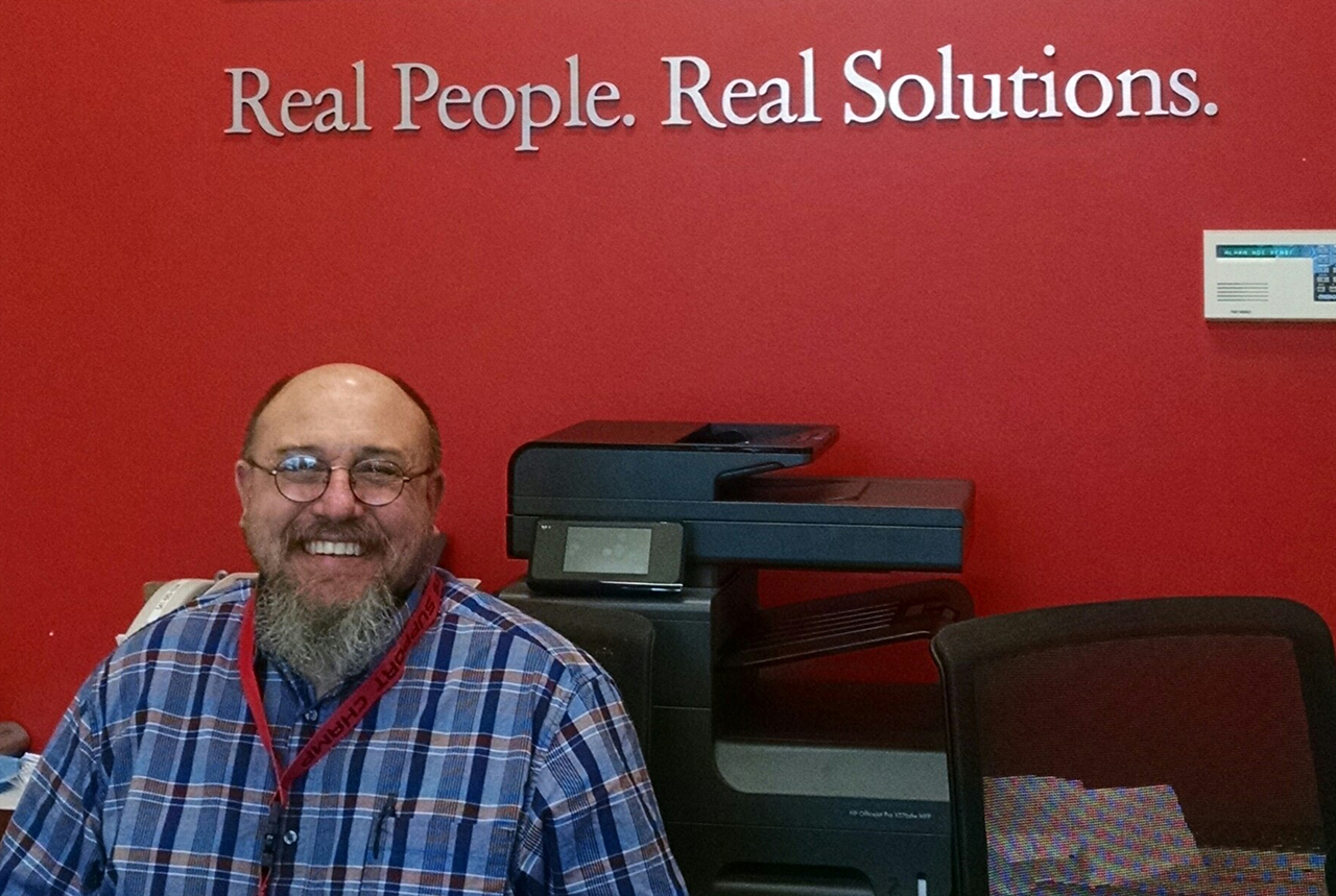 A Career Helping Others Rewards Ray Blank