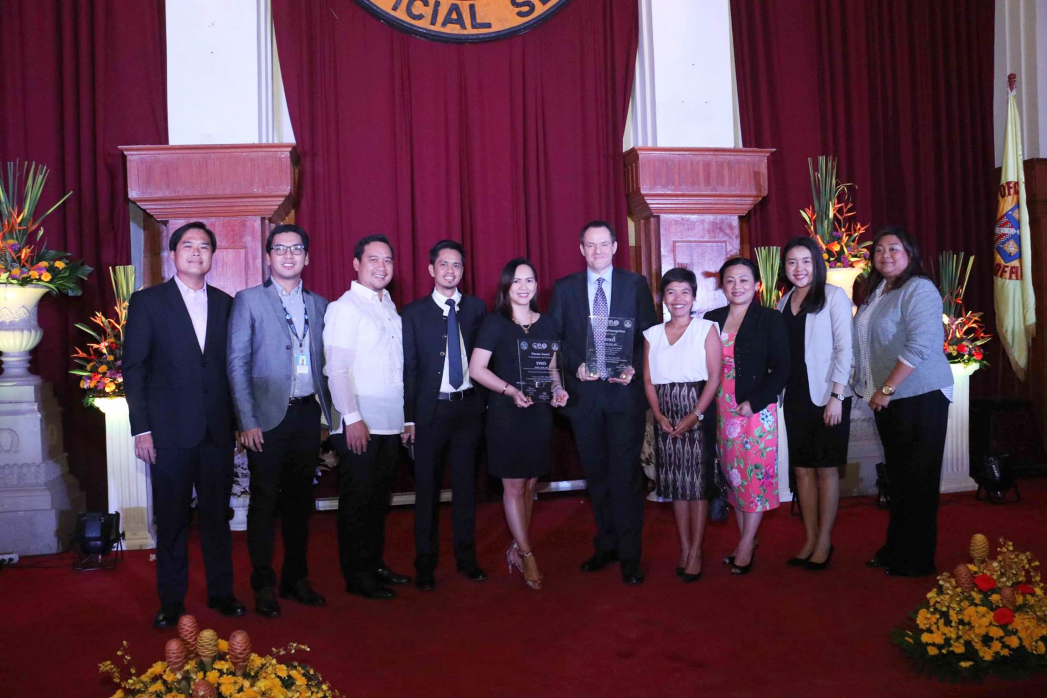SYKES Cebu Stands Out in CIB.O's Annual IT/BPM Event